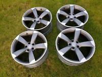 Genuine audi rotor alloy wheels 19 inch pcd 5x112