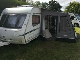 Abbey Spectrum 620 Caravan with AWD Motor Mover