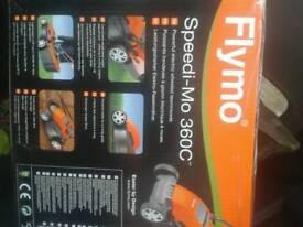 Lawnmower Flymo speedi-Mo 360c