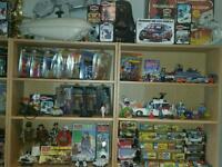 Star Wars, Corgi, Thundercats, Transformers, Palitoy, Mego, Dinky, Action Man, Lego, Ghostbusters