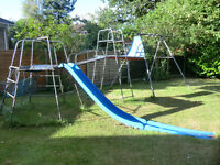 TP CLIMBING FRAME AND SWING FREE TO ANYONE IF DISMANTLE AND TAKE AWAY