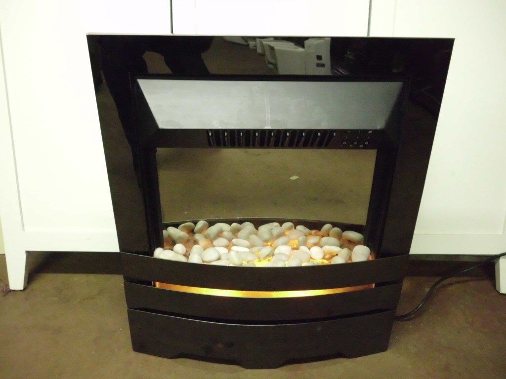 PEBLE FLAME EFFECT ELECTRIC INSET FIRE
