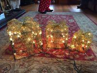 3 Christmas parcels