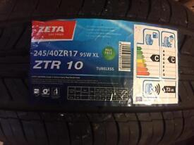 Zeta 245/40zr17 95w xl