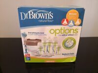 Dr Brown's Natural Flow Deluxe Set