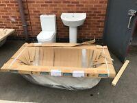 New bathroom suite