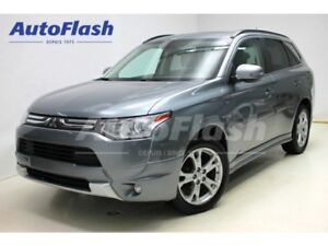 2014 Mitsubishi Outlander GT V6 3.0L AWD * 7-Pass * Cuir/Leather
