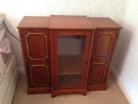 Hi-fi cabinet for sale. Matching coffee table and fireplace aswell