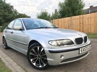 BMW 3 Series 2.0 320d SE 4dr p/x welcome 2003 (53 reg), Saloon Manual+One Year MOT+Service History