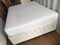 Kingsize Divan Sprung Base 2 Draws and Mattress