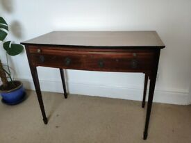 Antique Writing Desk with 2 draws