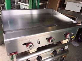 CATERING COMMERCIAL 90CM FLAT GAS GRILL CUISINE RESTAURANT FAST FOOD CATERING COMMERCIAL KITCHEN BAR