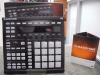 Native Instruments Maschine MkII with Software & Box