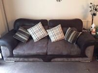 Sofa xl two seater x2seater 1 chair