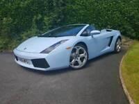 Lamborghini Sports Car Wedding Hire