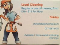 Local cleaning from £11-£14 per hour