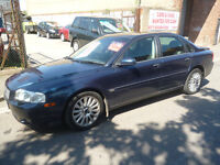 Volvo S80 SE DS Auto,4 door saloon,FSH,full electric leather interior,runs and drives very nicely