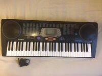 Casio CTK-541 Keyboard - Synth W - Touch Response 61 Keys MIDI & Drum