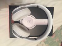 Beats Solo2 headphones in white
