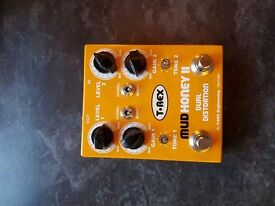 T-Rex Mudhoney II Dual Overdrive guitar pedal