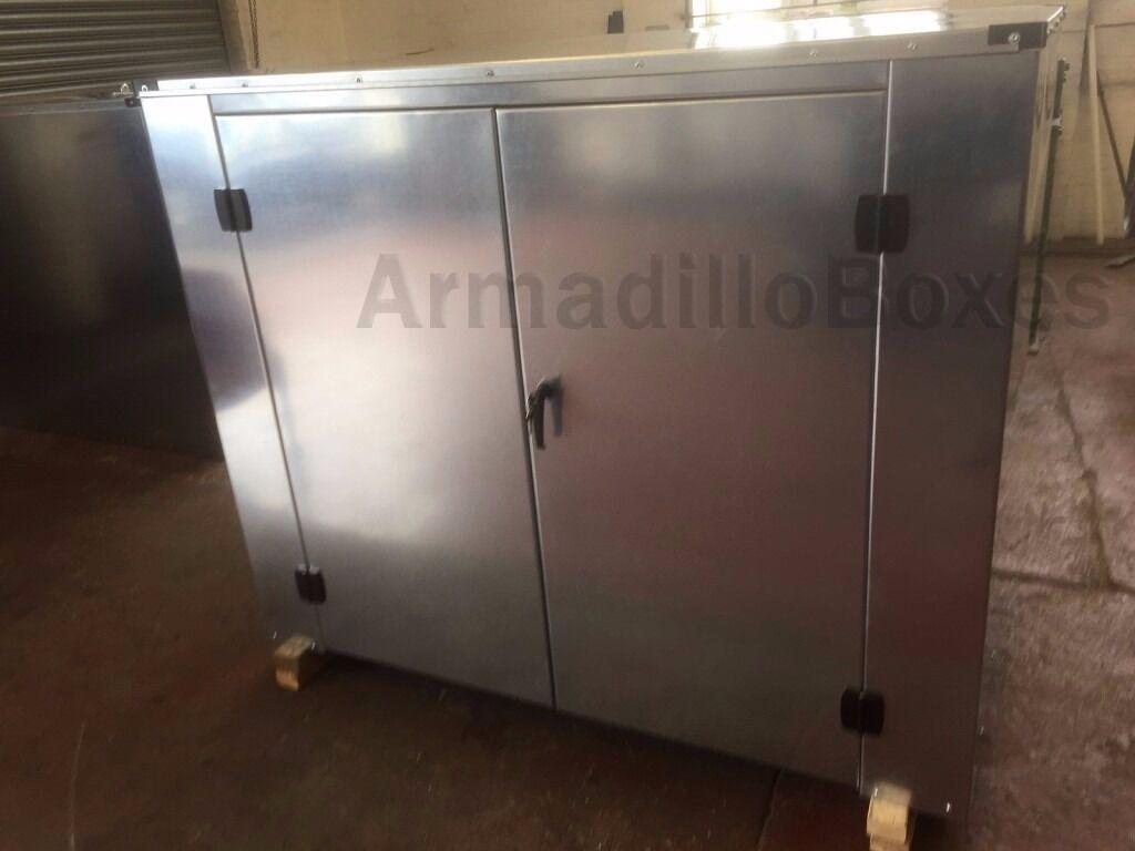 Caravan Secure Storage Box 1 2mm Galvanised Steel Under