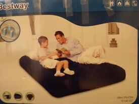 Air Double Bed size 1,91m x 1,37m x 22cm