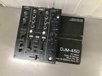 Pioneer DJM 450 Professional DJ Mixer Boxed