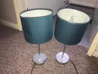 Dark Green lamps