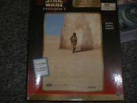 STAR WARS JIGSAW, NEVER PUT TOGETHER