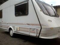 ELDDIS VOGUE TOURING CARAVAN, 2 BERTH