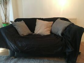 Large 2 Seater Leather Sofa