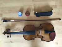 Beautiful Stentor Student 1 Violin for sale (size 3/4 for kids 8-12 years)