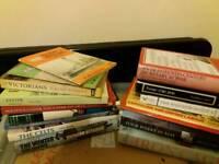 Box of 30 plus books