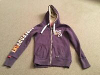 Super Dry Ladies size small hoody