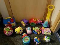 Bundle of infant/toddler toys