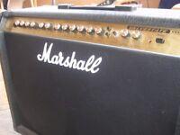 100W Marshall Valvestate Twin Speaker Amp