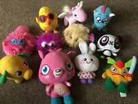 Soft toys- collective Moshi Monsters plush toys