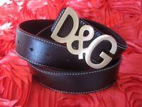Leather Belt - Dolce Gabbana