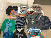 Bundle of boys clothes 4-5 years old