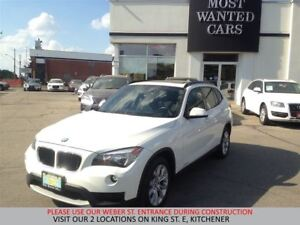 2014 BMW X1 xDrive28i | PANORAMIC SUNROOF | HEATED STEERING