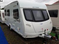 2013 Lunar Ultima 524 4 Berth Side Dinette End Washroom Caravan