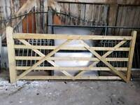 5 Bar farm gate
