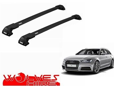 Farad Roof Bar Set to fit BMW 4 Series F32 Coupe 14-18 Square Steel Lockable