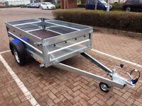 "Car box trailer Faro Tractus 7'7"" x 4'1"""