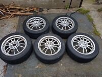 Alloy and wheels 195/50R15/82V