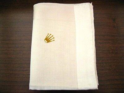 Vintage Unused Mens Rolex Handkerchief With Buy It Now Feature