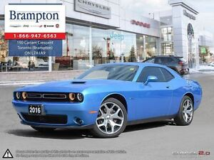 2016 Dodge Challenger R/T | COMPANY DEMO | LEATHER | SUNROOF | N
