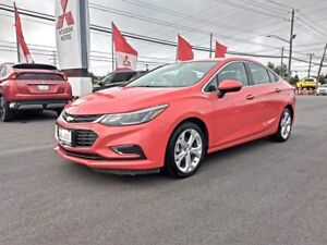 2018 Chevrolet Cruze Premier for only $176 biweekly taxes in!
