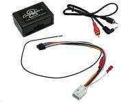 Aux input adapters Lead factory fitted car radios Audi BMW Citroen Ford Honda Peugeot Toyota Lexus