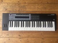 MIDI Keyboard Controller. Novation